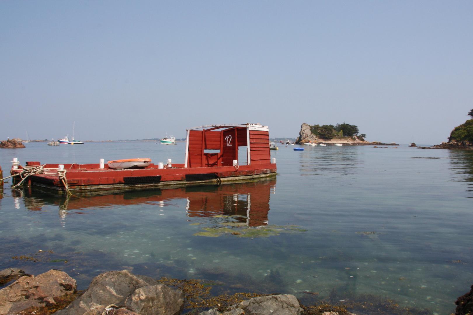 Hafen von Loguivy de la Mer