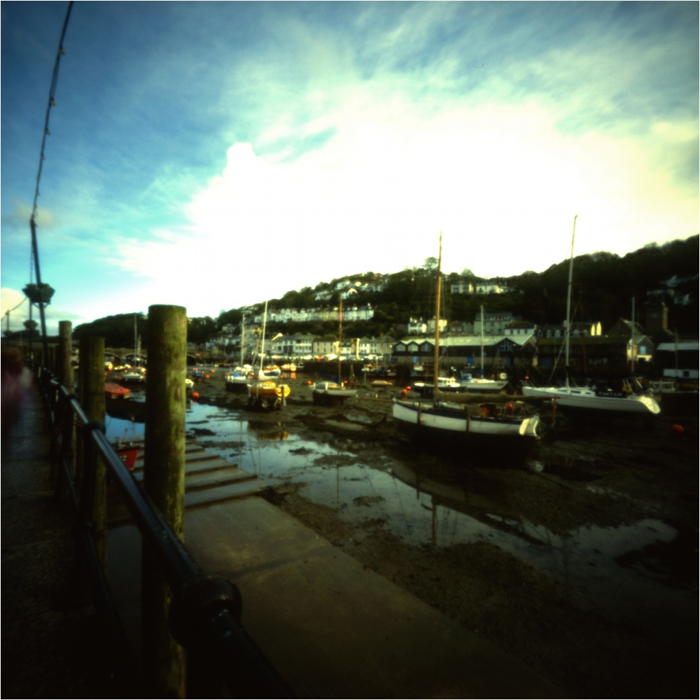 Hafen von Looe