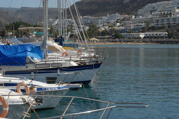 Hafen von Maspalomas