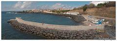 Hafen von Mosteiros (Sao Miguel, Azoren)