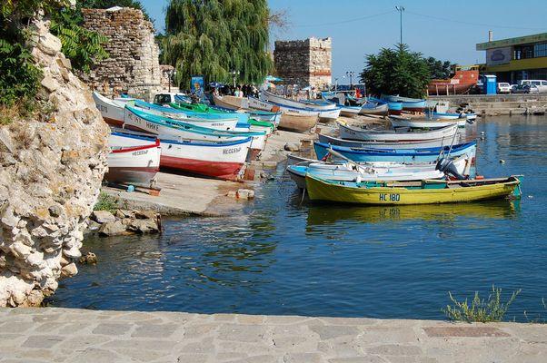 Hafen von Nesebar
