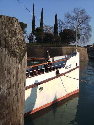 Hafen von Peschiera del Garda