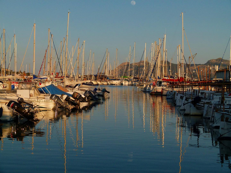 Hafen von Pollenca auf Mallorca