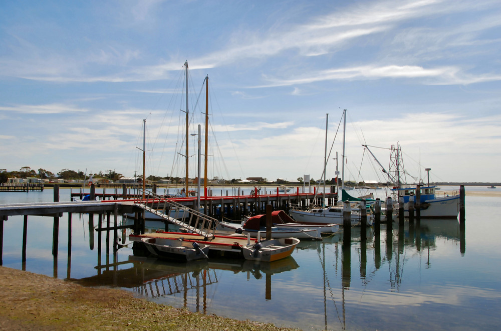 Hafen von Port Albert