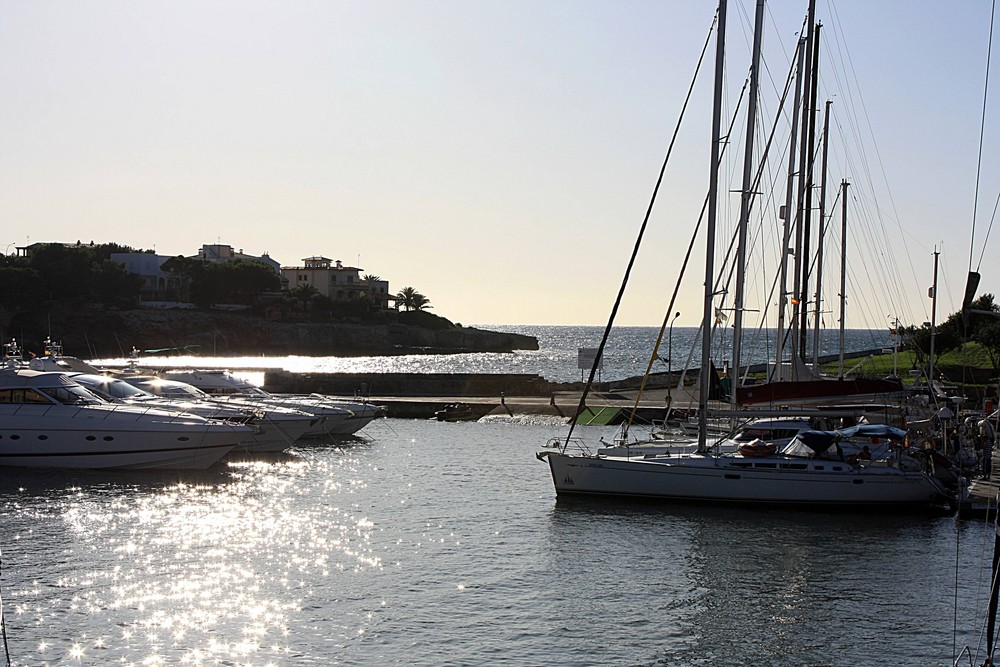 Hafen von Porto Cristo
