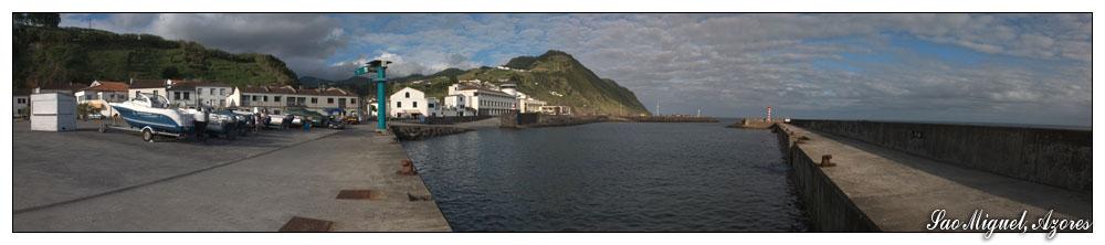 Hafen von Povoacao (Sao Miguel, Azoren)