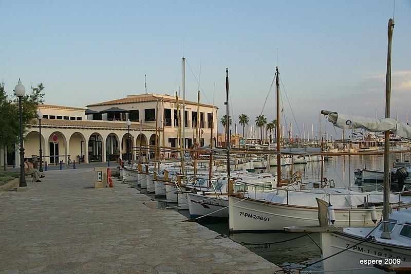 Hafen von Puerto Pollensa