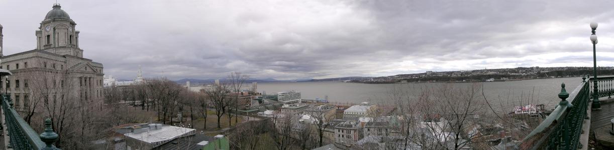Hafen von Quebec