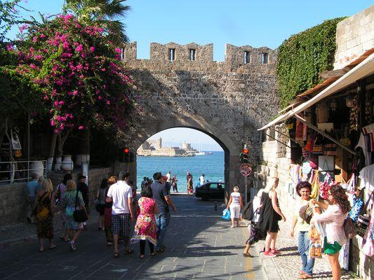Hafen von Rhodos