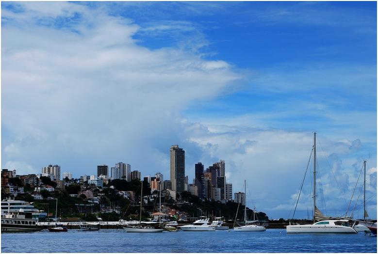 Hafen von Salvador