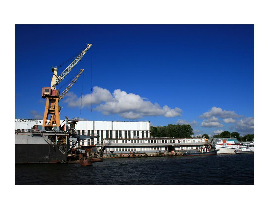 Hafen von Sankt Petersburg