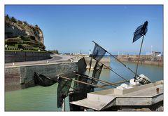 Hafen von St. Valery en Caux ...