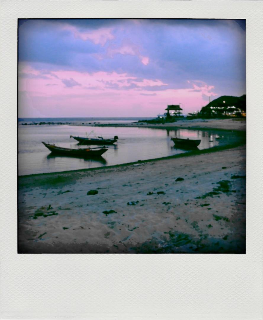 Hafen von Thong Sala
