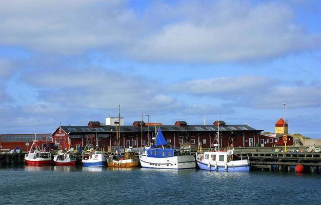 Hafen von Thyboron / Dänemark