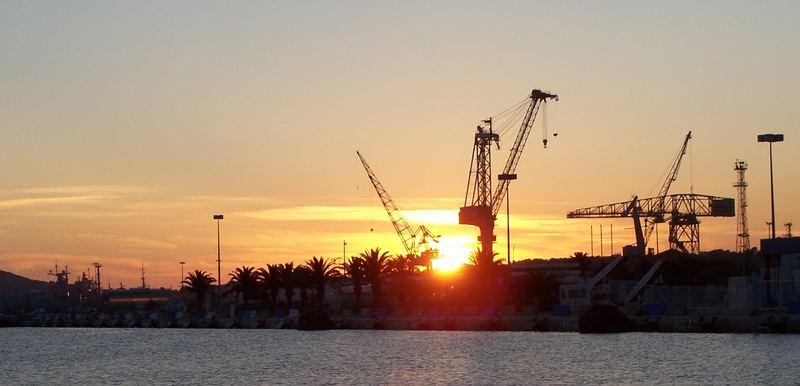 Hafen von Toulon