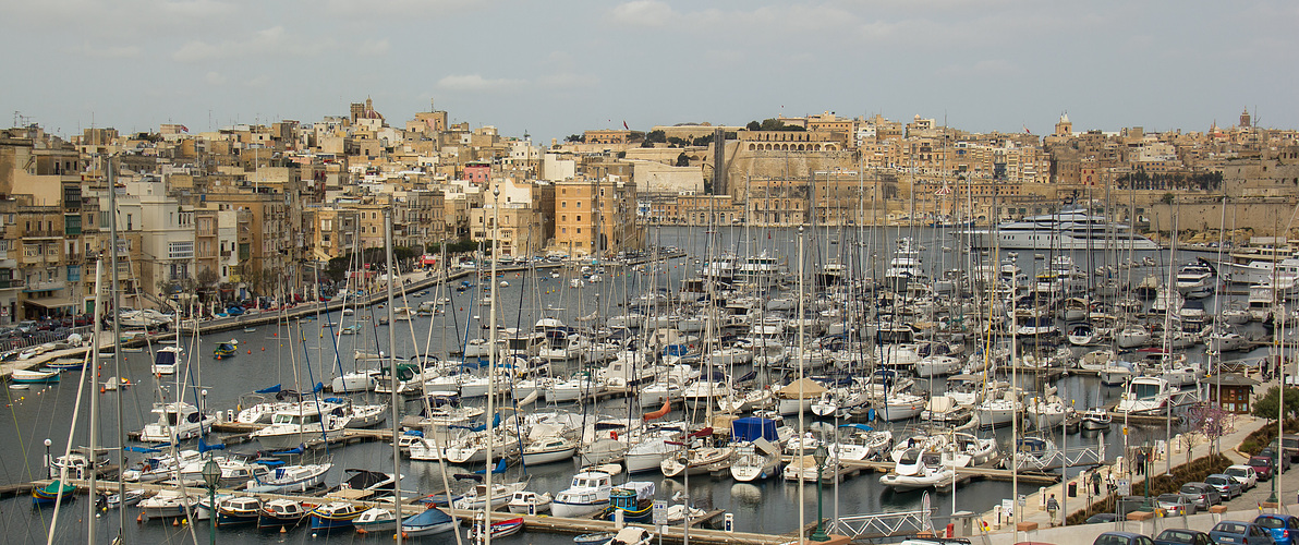Hafen von Vitturiosa auf Malta