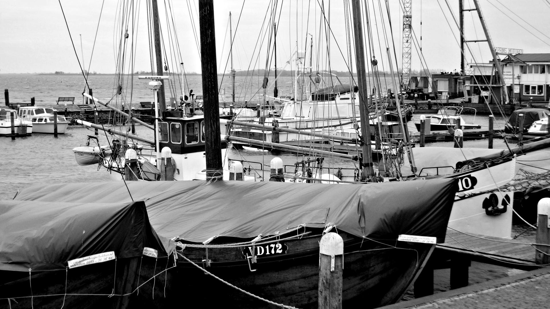 Hafen von Volendam