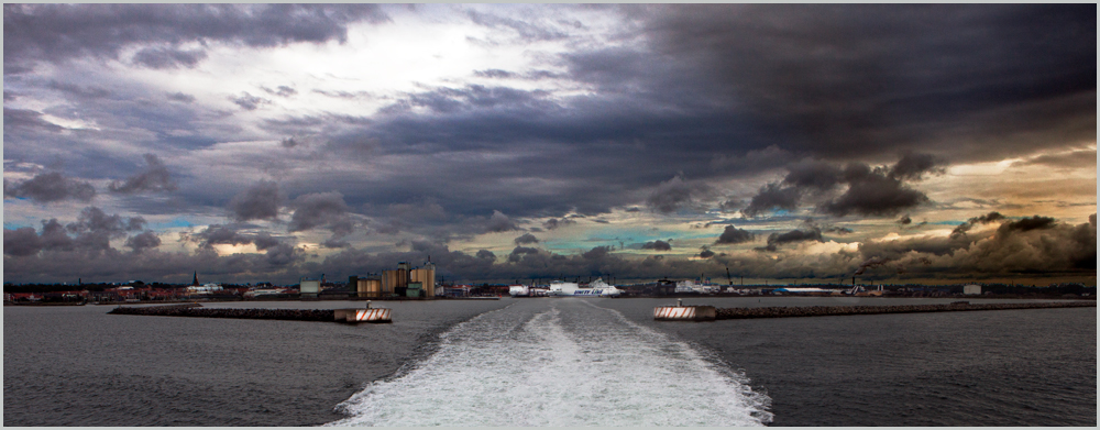 Hafen von Ystad