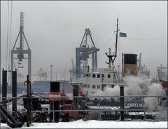 Hafen Winter 1