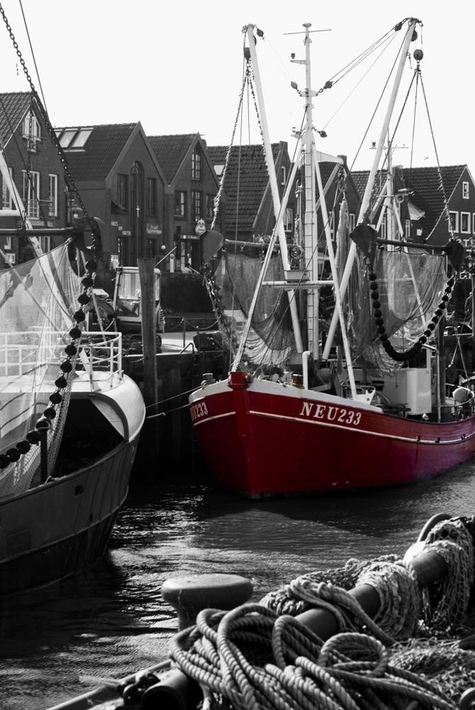Hafen zu Neuharlingssiel