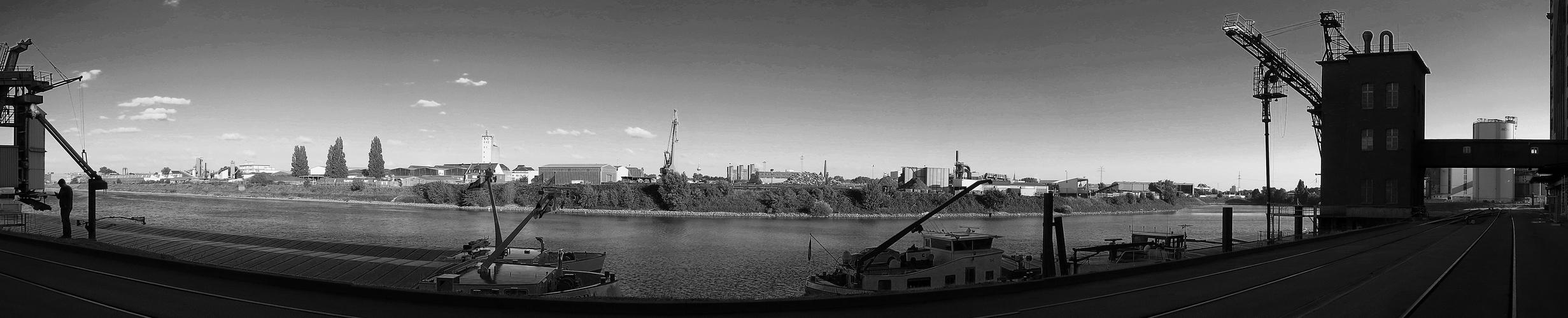 Hafenanlage Friesenheimer Insel