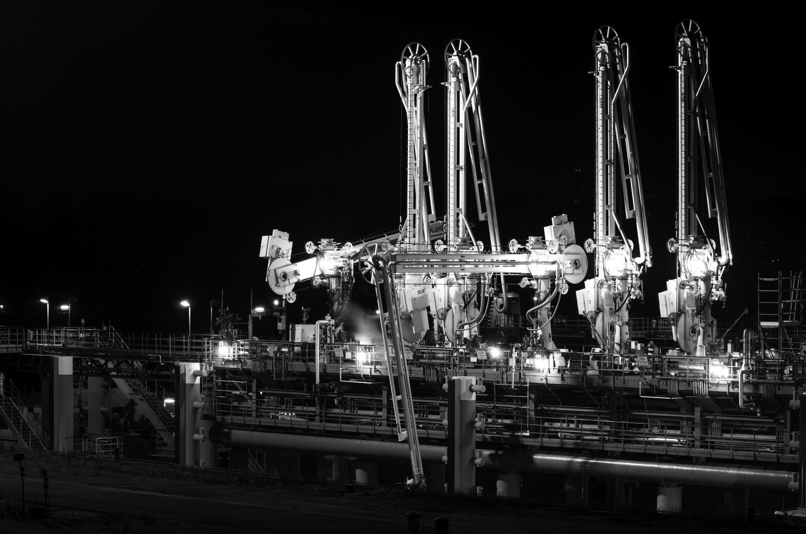 Hafenanlage in Godorf