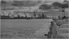 Hafenanlage in Litauen