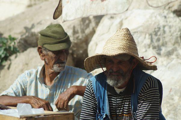 Hafenarbeiter in Marokko