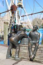 Hafenarbeiter von Neuharlingersiel