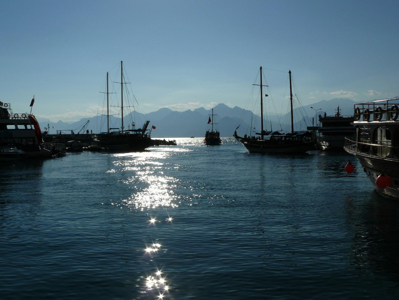 Hafenausfahrt mit Sternchen