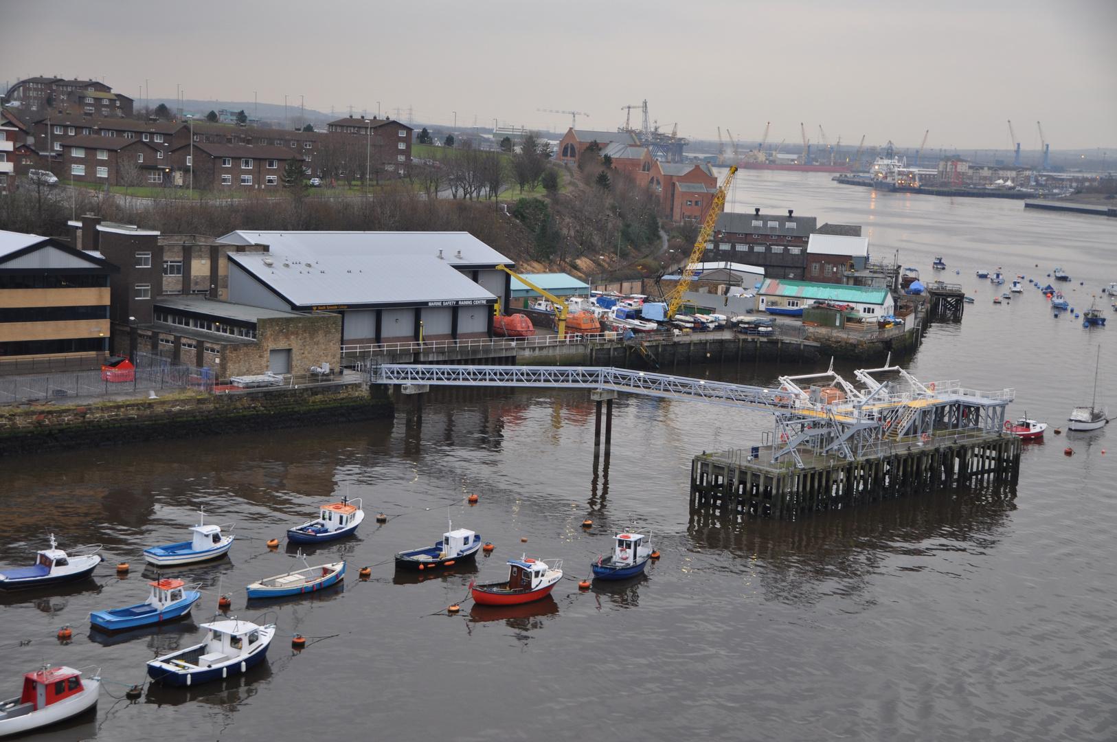 Hafenausfahrt Newcastle