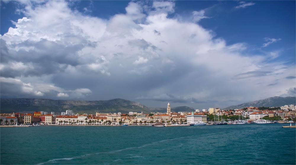 Hafenausfahrt Split