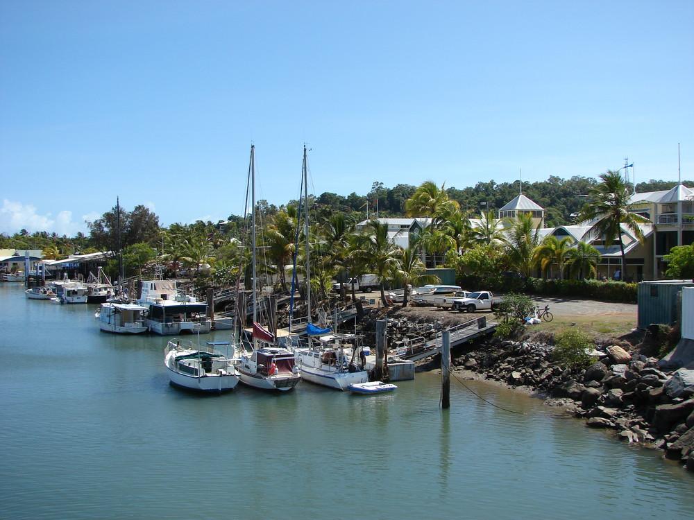 Hafenausfahrt von Port Douglas