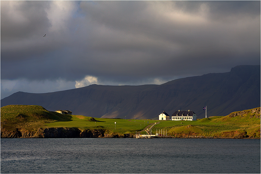 ... Hafenblick Reykjavik II ...