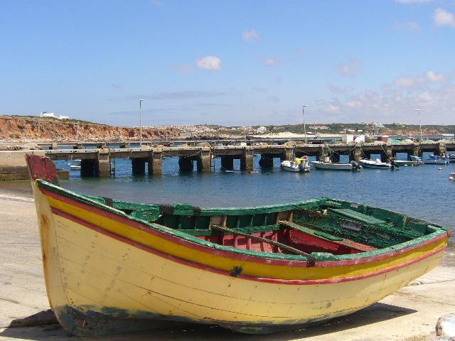 Hafenblick Sagres Portugal