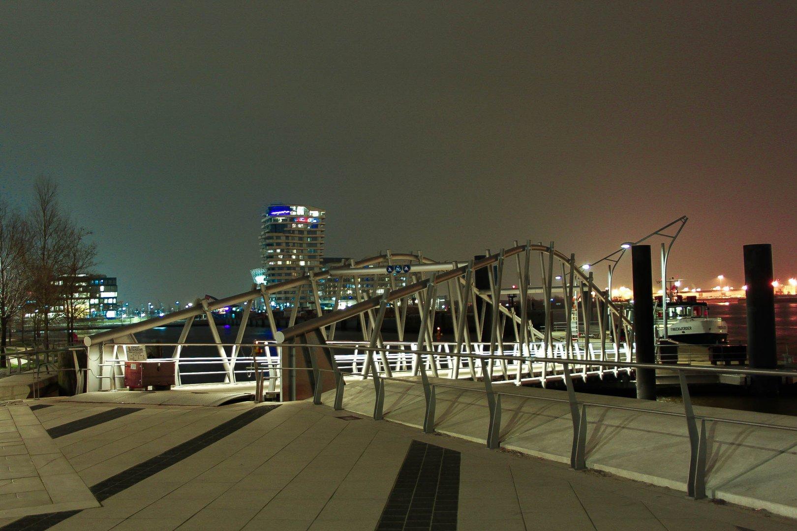 Hafencity bei Nacht - Lichter