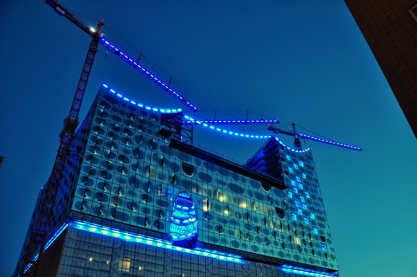 Hafencity blue night Teil3