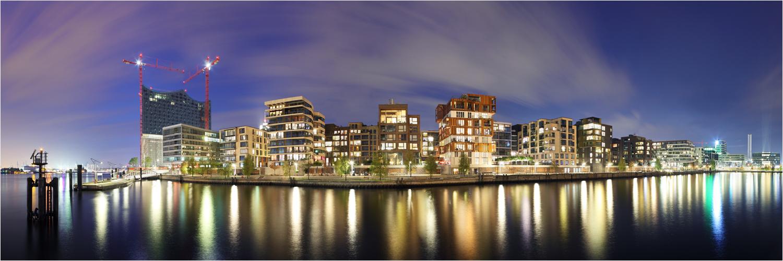HafenCity Hamburg - Grasbrookhafen Nordufer / Dalmannkai