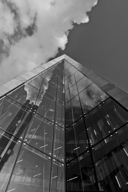 Hafencity in black and white 1