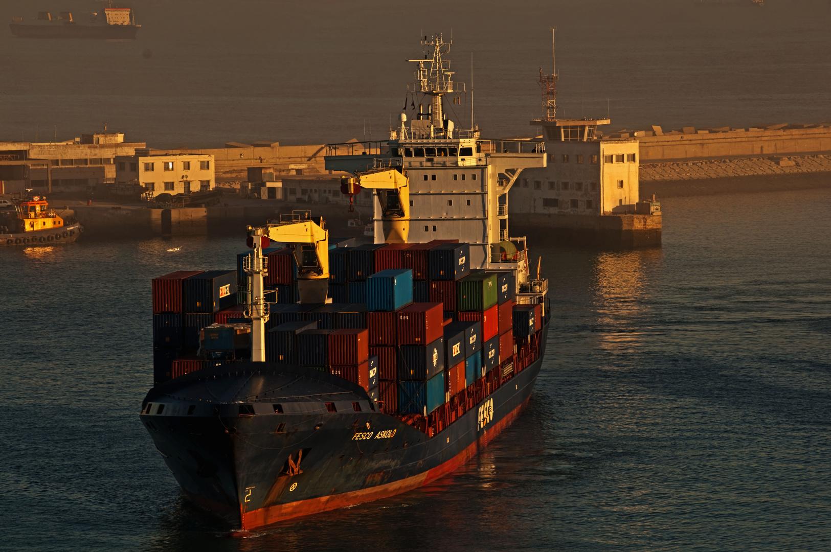 Hafeneinfahrt Casablanca