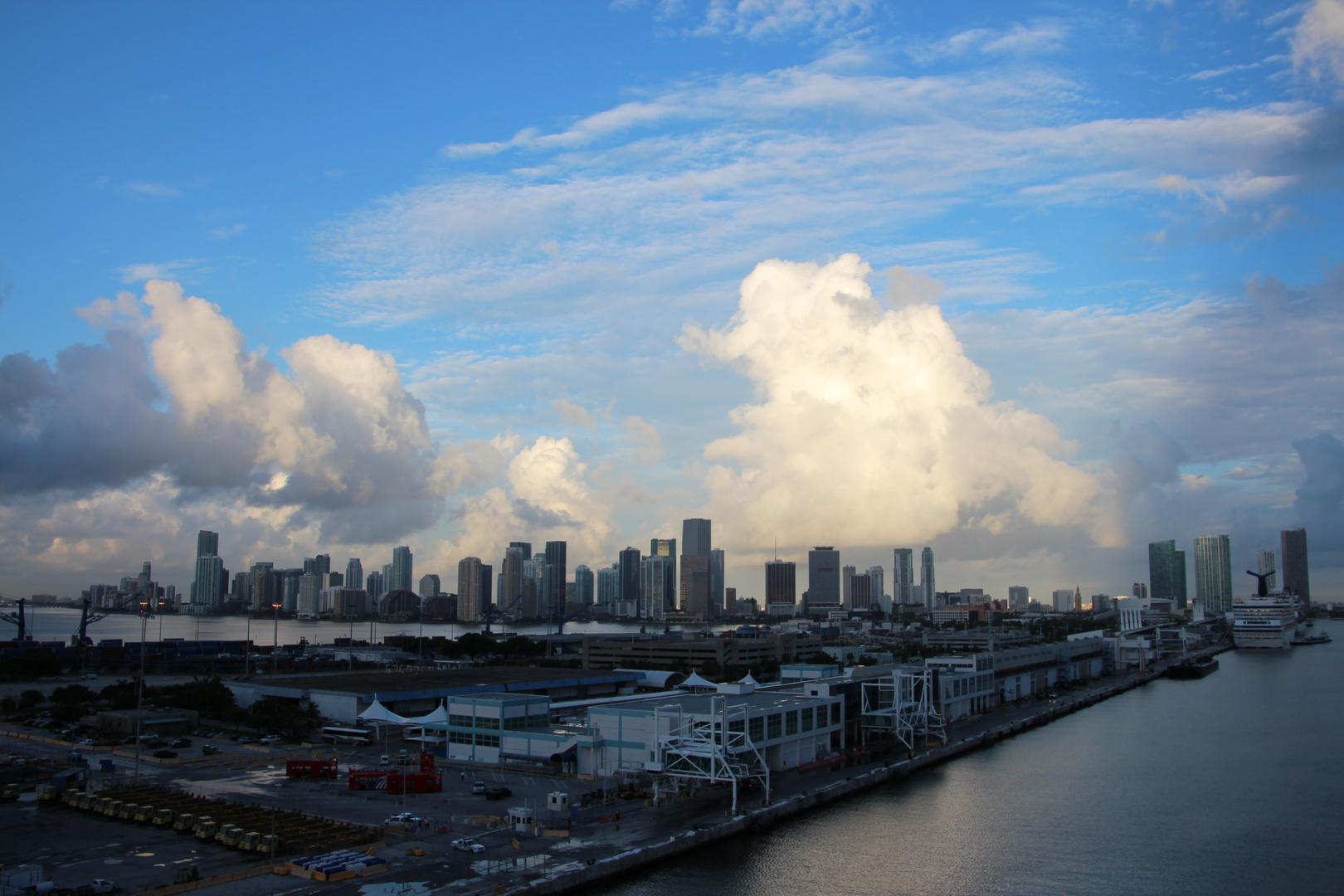 Hafeneinfahrt Miami
