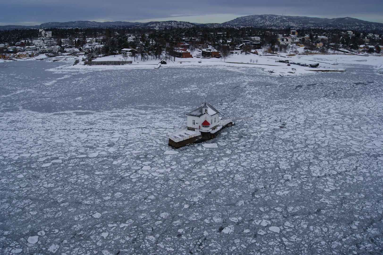 Hafeneinfahrt Oslo
