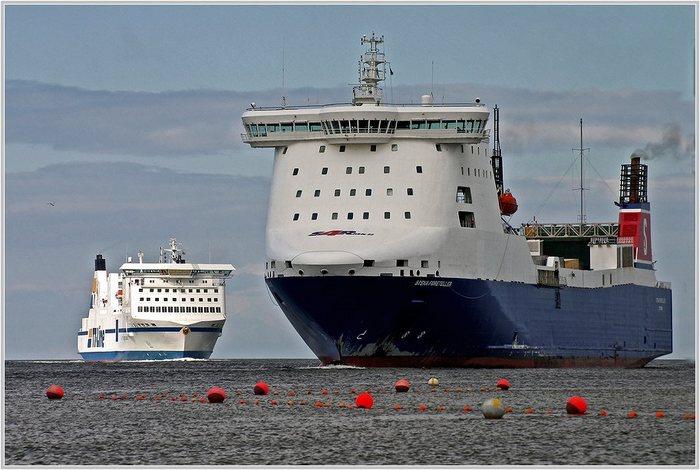 Hafeneinfahrt Travemünde