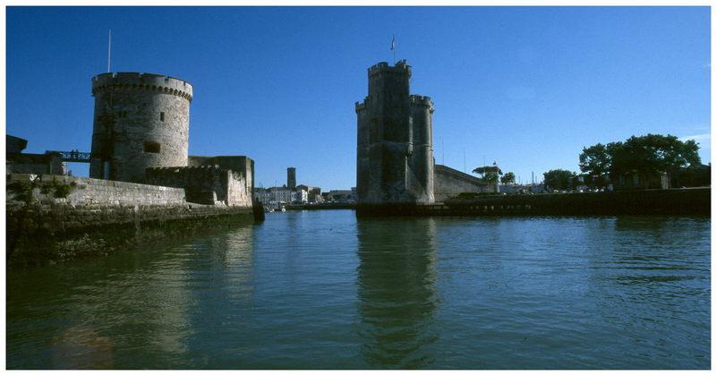 Hafeneinfahrt von La Rochelle