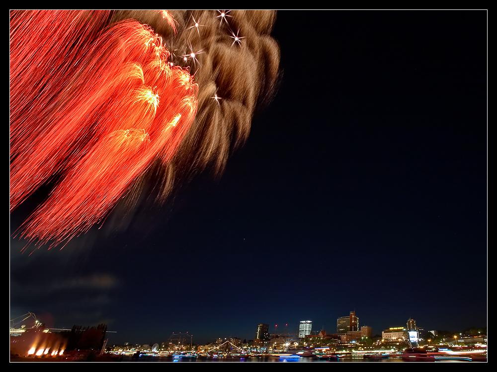 Hafengeburtstag Feuerwerk