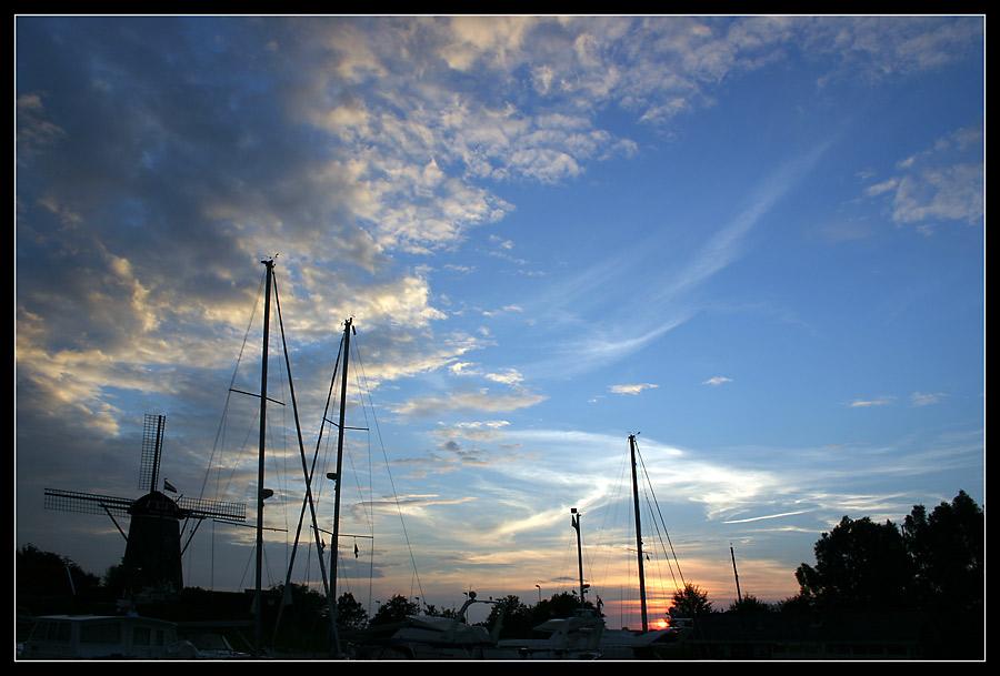 Hafenidylle in Brouwershaven