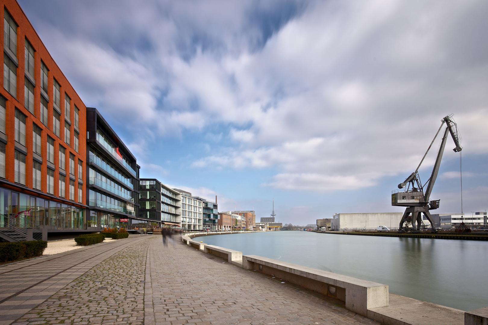 Hafenpromenade Münster
