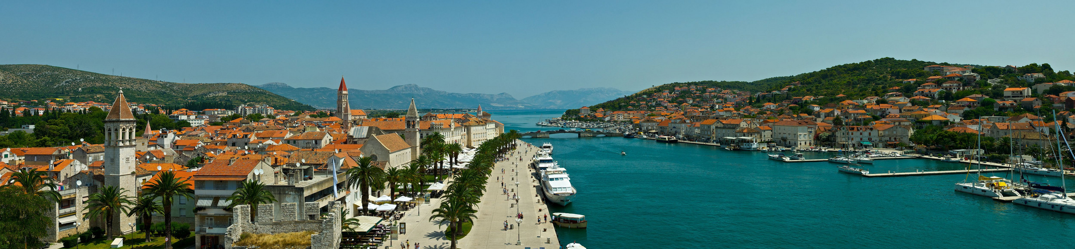 Hafenpromenade Trogir