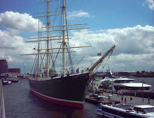 Hafenrundfahrt Hamburg Sommer 2002
