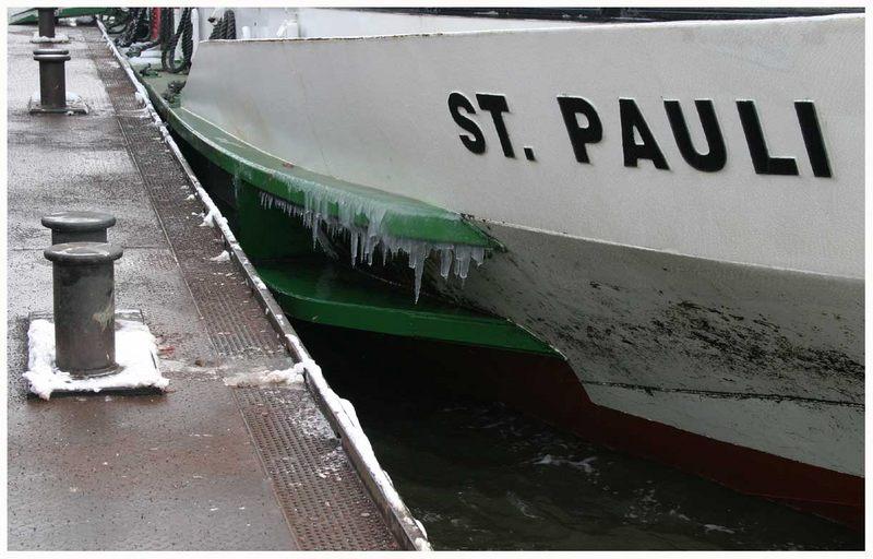 Hafenrundfahrt im Winter...